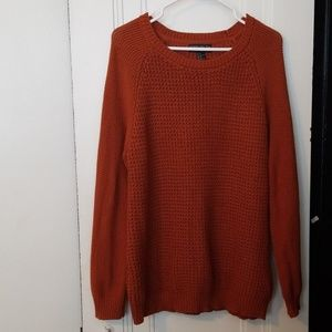 Burnt Orange Knit Sweater 2X